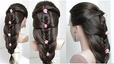 cute easy hairstyles for hair tutorial youtube