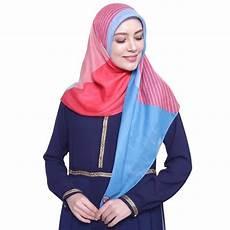 Harga Jilbab Segi Empat Zoya Terbaru Voal Motif
