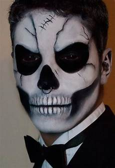 Totenkopf Schminken Mann - 21 makeup ideas for h a l l o w e e n
