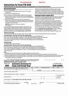 fillable form ftb 3539 payment voucher for automatic