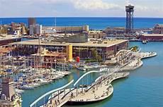 port vell barcelona port vell and port de barcelona stock photo getty images