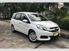 Car rental NEW Honda Mobilio (17 18) In Pattaya