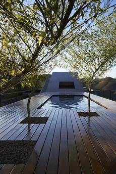 Eco Friendly Contemporary House Design Rooftop Swimming Pool Garden