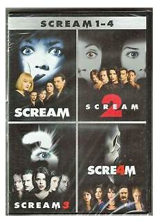 scream 1 2 3 4 dvd ultimate collection brand new ebay