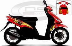 Striping Mio Sporty Keren by Modifikasi Cutting Sticker Motor Mio Paling Keren Terbaru 2020