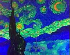 hey check out black light starry at mellow mushroom paint nite event starry