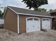 vinyl garage 2 car garage homestead structures