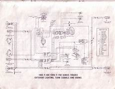 ford f100 light switch wiring diagram 65 ford f100 wiring diagrams ford truck enthusiasts forums