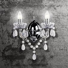 marie therese 2 lights clear chrome wall bracket chandelier light 714084885148 ebay
