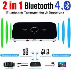 bluetooth transmitter tv test 2 in 1 wireless bluetooth transmitter a2dp receiver stereo