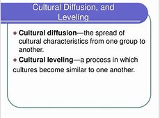 cultural diffusion in elite and pop culture