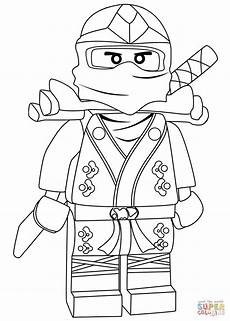 ninjago lloyd green zx coloring page free