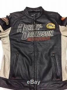 Used Harley Davidson Leather Jackets by Harley Davidson Gunnar Sport Leather Jacket S Large