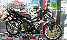 Modifikasi Sonic 150r by Modifikasi Honda Sonic 150r Pakai Velg Jari Ban No Cacing