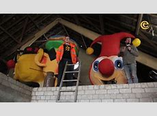 Carnavalswagen bouwen en tompouces maken in Monsieur
