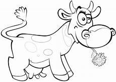 ausmalbild lustige kuh ausmalbilder kostenlos zum