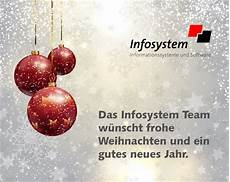 frohe weihnachten und ein gutes neues jahr infosystem ag