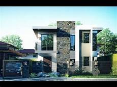 elegant two story modern house design architecture and art worldwide youtube