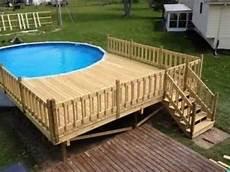 pool aus holz selber bauen pool holzverkleidung selber bauen