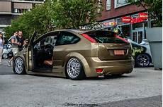 brown ford focus mk2 tuning samochody