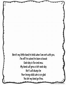 s day printable handprint poem 20557 poem activity for back to school the basics