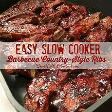 easy slow cooker barbecue country style ribs s mixing bowl