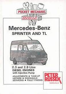 small engine repair manuals free download 2000 mercedes benz clk class spare parts catalogs 1995 2000 mercedes benz sprinter and tl 2 3l 2 9l diesel engines with injection pump