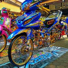 Warna Motor Jupiter Z by 40 Foto Gambar Modifikasi Jupiter Z Kontes Racing Look