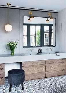 salle de bain avec carreaux de ciment tendance sol salle de bain carreaux de ciment frenchyfancy