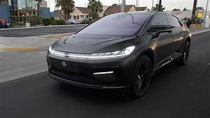 Faraday Future Gives Us An Exclusive Ride In The FF 91