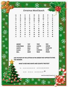 florassippi christmas word search free printable