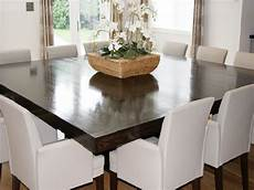 square dining table for 12 21 best room tables seat 10