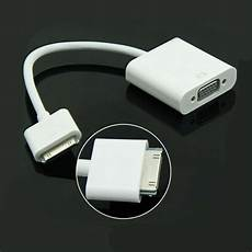 30 pin to vga hd converter adapter cable for