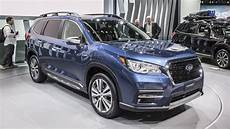 2019 subaru release 2019 subaru ascent release date specs news three row suv