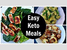 Easy Keto Meals   Full Day of Low Carb Ketogenic Diet