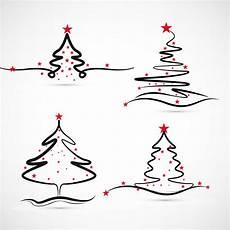 elegant merry christmas tree design vector download free vectors clipart graphics