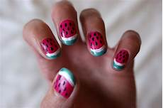 unlimited by jk watermelon nail art