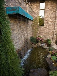 cascade d eau pour bassin vertikale wasserspiele garten koi teich wasserfall