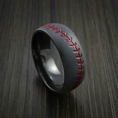 baseball wedding rings and bands ring pinterest ring weddings and wedding