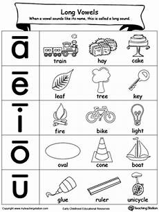 long vowels sound picture reference myteachingstation com