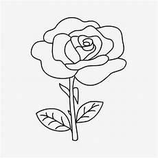 10 Sketsa Gambar Mewarnai Sederhana Bunga Halaman