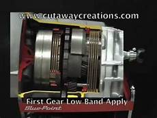 Powerglide Transmission Cutaway Air Shifted Motor Driven