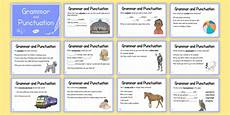 grammar worksheets year 5 uk 25017 year 5 grammar and punctuation challenge cards grammar punctuation cards