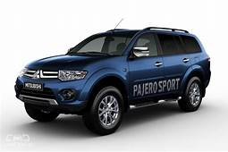 2019 Mitsubishi Pajero Sport Facelift Spied For The First
