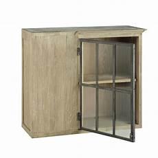 meubles haut de cuisine 96302 meuble haut d angle de cuisine ouverture gauche en bois recycl 233 gris l 97 cm copenhague