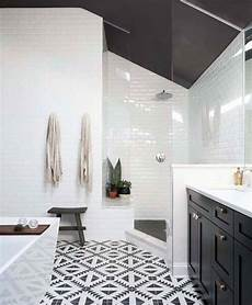 Black And White Bathroom Tile Ideas Top 60 Best White Bathroom Ideas Home Interior Designs