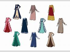 Free Abaya Vector   Download Free Vectors, Clipart