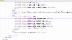 html tutorial 36 html form elements part 2 youtube