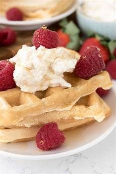 cheesecake waffles for crust