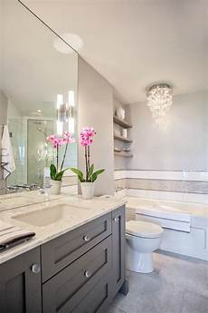 grey vanity contemporary bathroom design